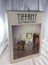 Tiffany by Ravenhead Vintage Glass Set 18 Pieces - Whisky Wine & High Ball