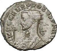 PROBUS 279AD Authentic Ancient Roman Coin Sol Sun God Cult Quadriga horse i40734