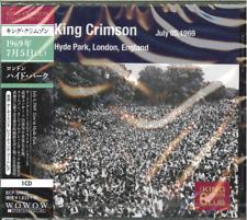 KING CRIMSON-COLLECTORS CLUB HYDE PARK-JAPAN CD D81