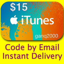 $15 APPLE US iTunes GIFT CARD voucher certificate FAST (USA Store) 100% Genuine