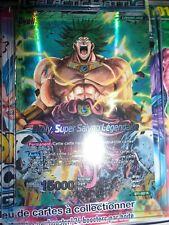 DRAGON BALL SUPER BROLY SUPER SAIYAN LEGENDAIRE BT1-057 R FRANCAIS NEUF