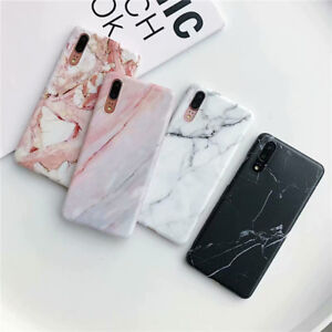 For Huawei P20 P30 Lite Mate20 30 Pro Phone Case Elegant Marble Silicone