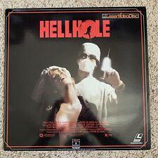 HELLHOLE Laserdisc - VERY RARE HORROR