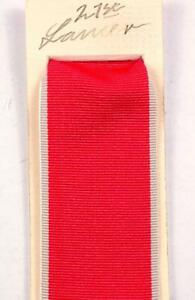 MBE OBE Medal Civil Ribbon Replacement for Full Size Medal 38mm wide Knighthood