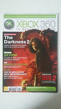 Magazine XBOX 360 N°66 - Mars 2011 - THE DARKNESS 2 SKYRIM MARVEL VS CAPCOM 3