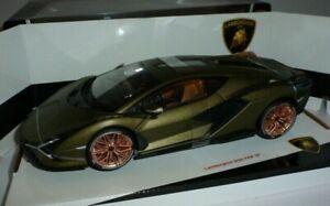 Lamborghini Sian 1:18 Matt Green by Burago