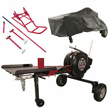 Split Second 34-Ton Kinetic Log Splitter Bundle Package- Includes Cover and L...