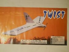 Free Air Twist Composite Flying Wing ARF Including Brushless Motor And Spinner