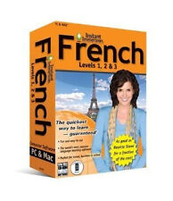 Topics Entertainment Instant Immersion French Levels 1, 2 & 3 for PC, Mac S5