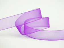 200YDS (100YDS x 2 Rolls) 16MM Organza Ribbon ~~ Purple