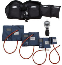 ADC 732 Multicuff Palm Aneroid Sphyg Blood Pressure Monitor Kit w 4 Cuff NAVY