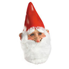 Santa Claus Style Travelocity Gnome Full Overhead Costume Mask Disguise 10522