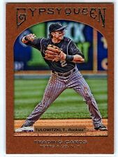 2011 Topps Gypsy Queen Framed Paper - Troy Tulowitzki [8] - #724/999 - Rockies