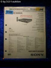 Sony Service Manual SLV SE35 SE50 SE60 SE70 SX60 SX70 Video Recorder (#6105)