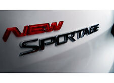 3D New Emblem 1p Clear red type For 11 12 13 14 Kia Sportage