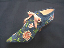 Just The Right Shoe Versailles 25021 Retired Victorian Roses Unique Ribbons