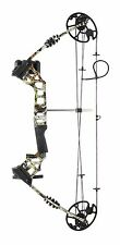 C120 Compound Bow Set 20-70lbs Camo Inc Arrow Quiver PEEP Sight Hunting Kit