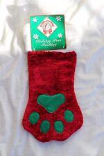 Plush Puppies Holiday Paw Stocking
