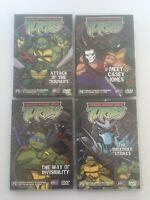 TMNT Ninja Turtles S1 Volumes 1-4 - 12 Episodes - Rare 2003 DVD Set - Mirage PAL