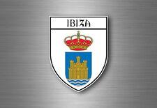 sticker adesivi adesivo stemma etichetta bandiera auto spagna ibiza