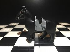 Lego Black Battle Horse Moveable Back Legs X1 / Lord Of The Rings / Land Animal