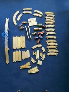 Wooden Train Track Set Bundle (Brio, ELC, Tesco,Thomas Compatible)  3.6 kgs