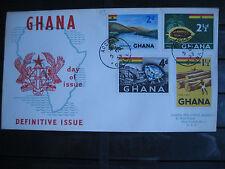 sellos GHANA. año 1959. Yvert 43 - 44 - 45 y 47