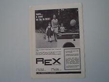 advertising Pubblicità 1964 LAVATRICE REX AUTOMATICA 280
