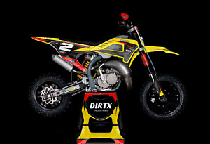 NEW DIRTX INDUSTRIES COBRA FADING COMPLETE GRAPHIC KIT CX50 KING SR JR P3 CX65