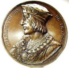 NAPOLI E SICILIA (CARLO VIII) Medaglia 1836