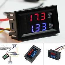 Dual Display Led Dc 0100v 10a Digital Voltmeter Ammeter Panel Amp Volt Gauge