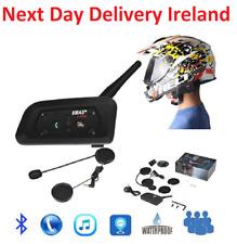 1200m 6 Riders BT Intercom Bluetooth Motorcycle Helmet Motorbike Headset V6 FM
