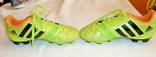 Adidas Neon yellow & Black soccer cleats s:1.5y Exc. condition