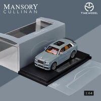 In Stock TIME MODEL 1:64 Rolls-Royce Cullinan MANSORY REGULAR EDITION Gray Model