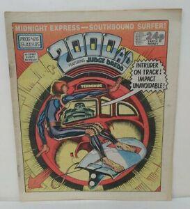 2000 AD Prog 426 (1985) Judge Death Anderson Midnight Surfer Newsprint Comic HTF