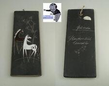 # Ruscha Piastra Muro 734 Panton Era E-Mail Dipinto Cavalli fatti a mano 60 CRAVATTE #