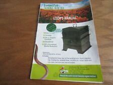 Vermitek Vermihut Worm Bin Owner's Manual ONLY
