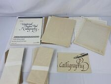 Vintage Eaton Calligraphy Pad 50 Sheets|Paper|Envelopes Lot - Scheaffer Textron
