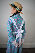 Colonial girl pinafore Apron only costume early Australian apron Anne with an E