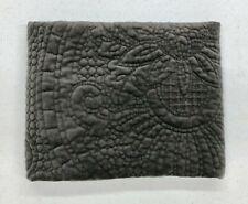 NEW Pottery Barn Velvet Medallion STANDARD Quilted Sham~Flagstone Gray
