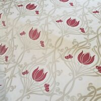 iLiv Signature Lalique Ruby Curtain Craft Fabric 3 Metres
