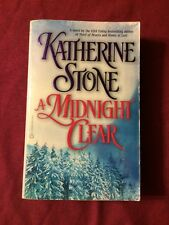 1999 A Midnight Clear Katherine Stone Paperback Fiction Book Romance Novel