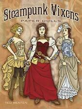 Steampunk Vixens Paper Dolls by Ted Menten (Paperback, 2014)