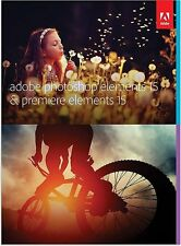 Adobe Photoshop elements 15 + Adobe Premiere Elements 15 - Download (Mac/Win)