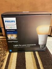 Philips Hue White Ambiance E26 4-Bulb Starter Kit