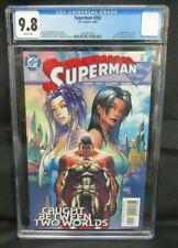 Superman #202 (2004) Michael Turner Cover DC CGC 9.8 B717