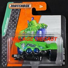 "2015 Matchbox #110 Deep Diverâ""¢ Green/Black/Neptune' S Navigator/Short Card/Moc"