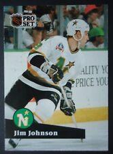 NHL 116 Jim Johnson Minnesota North Stars Pro Set 1991/92