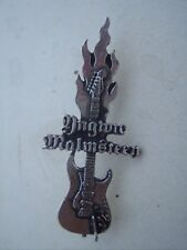 YNGWIE MALMSTEEN - GUITAR.  By Alchemy / Poker Rox of England.     Pin / Badge.