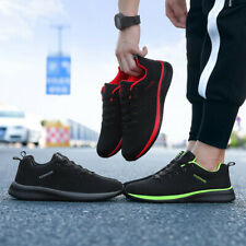 Men Casual Shoes Lace up Men Shoes Lightweight Breathable Walking Sneakers Tenis
